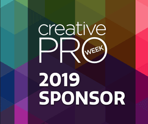 Sponsor of The CreativePro Week 2019 in Seattle, WA