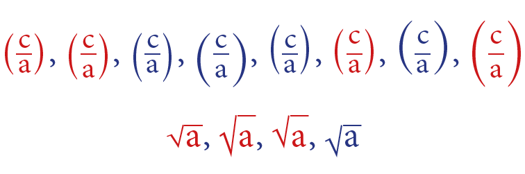 MathStyle variations